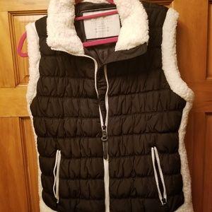 Calvin Klein Performance Sherpa Trim Vest